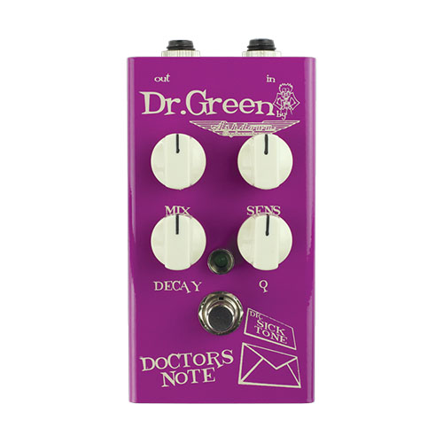 Dr. Green Doctor's Note Envelope Filter Bass Effects Pedal