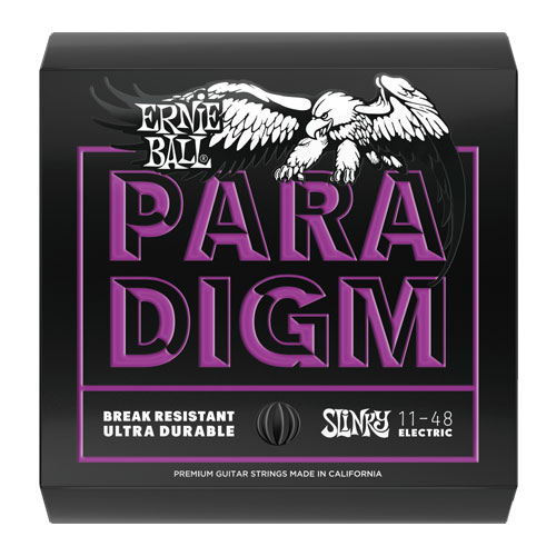Ernie Ball 2020 Paradigm Electric Guitar String, Power Slinky
