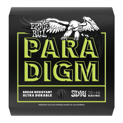 Ernie Ball 2021 Paradigm Electric Guitar String, Regular Slinky