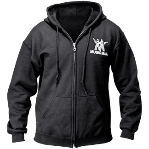 Ernie Ball 4694 Music Man Logo Hoodie Black XXL