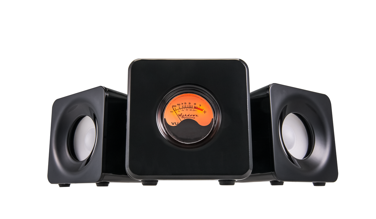 M-Cubed-BLK Desktop Bluetooth Audio System