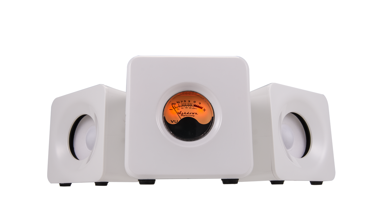 M-Cubed-WHT Desktop Bluetooth Audio System