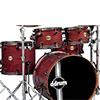 ddrum Paladin Walnut 5pc Ember Red
