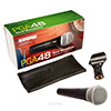 Shure PGA48 Handheld Mic with 15 Ft. XLR Cable