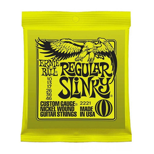 Ernie Ball 2221 Nickel Regular Slinky