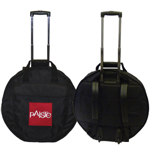 22 PROFESSIONAL CYMBAL TROLLEY BAG BLACK
