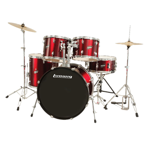 Ludwig Accent CS Combo Jazz Kit W/ HRDWD