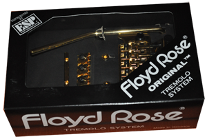 Floyd Rose Tremolo System in GOLD
