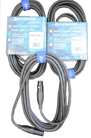 Reference Microphone XLR Cable