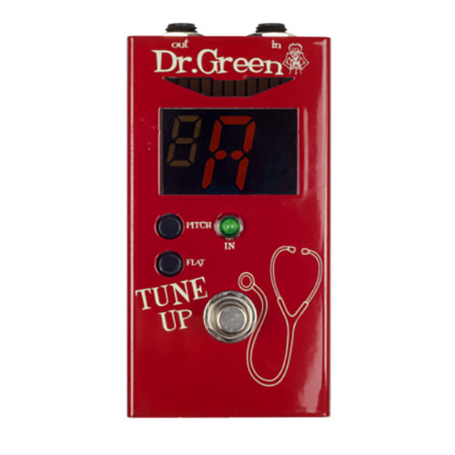 Dr. Green Tune up Pedal Bass and Guitar