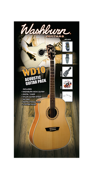 Washburn WD 10 PACK