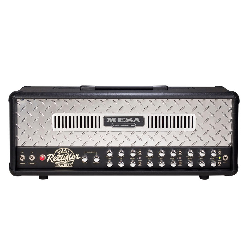 mesa boogie dual rectifier 100 watt head musicians warehouse dubai. Black Bedroom Furniture Sets. Home Design Ideas
